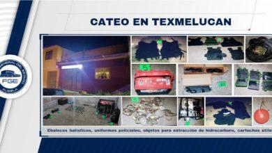 San Martín Texmelucan, cateo, robo de combustible, secuestro, FGE, FISDAI, aseguramiento, Código Rojo, Nota Roja, Puebla, Noticias