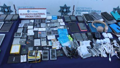 SSC,SEGOM, 8 Poniente, operativo, aseguramiento, teléfonos celulares, accesorios, Código Rojo, Puebla, Puebla, Nota Roja, Noticias