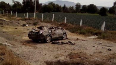 Acatzingo, autopista Puebla-Orizaba, exceso de velocidad, pasajeros, accidente, Policia Federal, Caminos y Puentes Federales