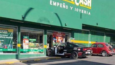 choque, patrulla, municipal, falla mecánica, Ayuntamiento de Tecamachalco, Código Rojo, Puebla, Nota Roja, Noticias