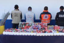 Autoridades, municipales, operativo, aseguramiento, pirotecnia, teléfonos celulares, procedencia ilícita, Código Rojo, Nota Roja, Puebla, noticias