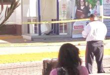 robo, cajero automático, armamento, armas de fuego, personal, seguridad, asalto, camioneta, huída, Código Rojo, Nota Roja, Puebla, Noticias