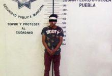 SSC, San Pedro Cholula, camioneta, robo, Paso de Cortés, Protección Civil, lesión, rostro, robo del vehículo, atención médica