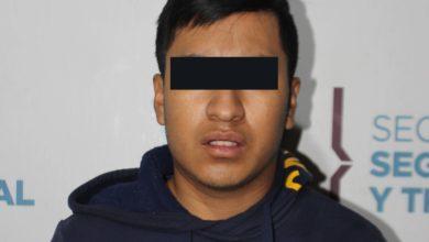 SSC Municipal, detenido, choque, La Estrella de Puebla, Angelópolis, portación, arma de fuego