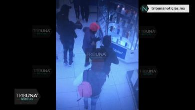 Coppel, asalto, robo, telefonía celular, martillos, romper, vitrinas, huida, Policía Municipal, Código Rojo, Nota Roja, Puebla, Noticias