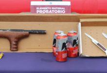 detenidos, Villa Posadas, SSC Municipal, robo de vehículos, arma de fuego, portación ilegal, robo de vehículo