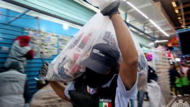 operativo, Mercado Zapata, piratería, material apócrifo, discos, decomiso