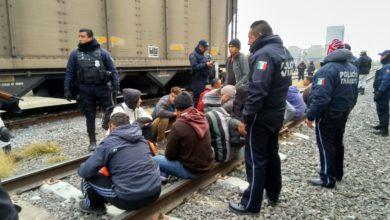 operativo, indocumentados, centroamericanos, INM, Ciudad Serdán, Nazareno, tren