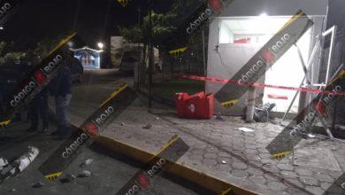 Robo, cajero automático, enfretamiento, sujetos, armados, policías municipales, Santander, Coxcatlán, Código Rojo, Nota Roja, Puebla, Noticias