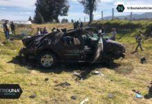 Volcadura, camioneta, autopista Puebla-Orizaba, Acajete, familia, hospital, exceso de velocidad, GN