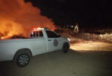 incendio, controlado, La Coordinación General de Protección Civil Estatal, Cuyoaco, relleno sanitario, Código Rojo, Nota Roja, Puebla, Noticias