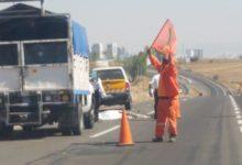 Ciclista, autopista a Atlixco, bicicleta, paramédicos, signos vitales, casquete corto, tez morena, San Antonio Cacalotepec