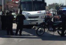 transporte público, MUERTE, TROPELLAMIENTO, autobús, Puebla-Amozoc, unidad colectiva, puente peatonal, SUMA, paramédicos