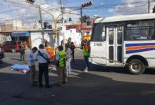yerno, suegra, chofer, transporte público, atropellada, SUMA, paramédicos, Tránsito Municipal, Código Rojo, Nota Roja, Puebla, Noticias