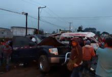 aparatoso, choque, muerto, lesionados, combi, camioneta, traslado, hospital, ambulancias, municipios, Tlatlauquitepec, Código Rojo, Nota Roja, Puebla, Noticias