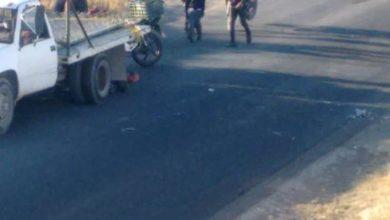 motociclista, muerto, Santa Clara Ocoyucan, FGE, carga, muerte instantánea, Código Rojo, Nota Roja, Puebla, Noticias