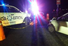 choque, patrulla, camioneta, estado de ebriedad, traslado, hospital, paramédicos, resguardo policial, Código Rojo, Nota Roja, Puebla, Noticias