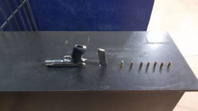 Ministerio Público, Coronango, Grupo de Reacción, arma de fuego, cartucho