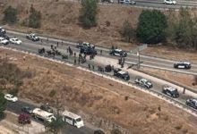 Vía Atlixcayotl, Periférico, FGE, movilización policiaca, camionetas Suburban, C5, Agencia Estatal de Investigación, Ciudad Judicial, San Andrés Cholula