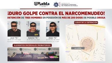 marihuana, heroína, cocaína, metanfetaminas, piedra, SSC, Policías Municipales, narcóticos, Carpeta de Investigación, Ministerio Público