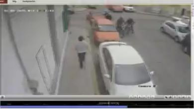 robo, motocicleta, dos, sujetos, arma de fuego, amagar, San Martín Texmelucan, transeúntes, Centro, Código Rojo, Nota Roja, Puebla, Noticias