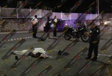 motociclista, bulevar Cadete Vicente Suárez, choque, tope, camioneta, muerto, lesionados, Código Rojo, Nota Roja, Puebla, Noticias