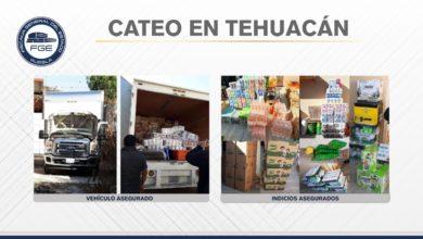cateo, Tehuacán, abarrotes, llantas, refacciones, GPS, FGE, aseguramiento, detenido, torton, Oaxaca, Código Rojo, Nota Roja, Puebla, Noticias