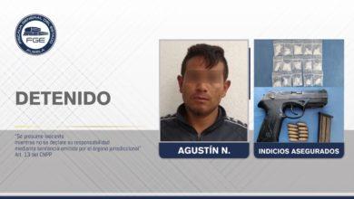 detenido, integrante, banda, El Bukanas, posesión de drogas, arma de fuego, asegurado, Código Rojo, Puebla, Noticias, Nota Roja