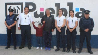 Secretaría de Seguridad Ciudadana, Los Fuertes, San Pablo Xochimehuacán, Policía Municipal, familiares, Atención a Víctimas, infante