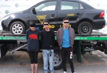 taxi, robado, FGE, SSC, dos hombres, mujer, Código Rojo, Nota Roja, Puebla, Noticias