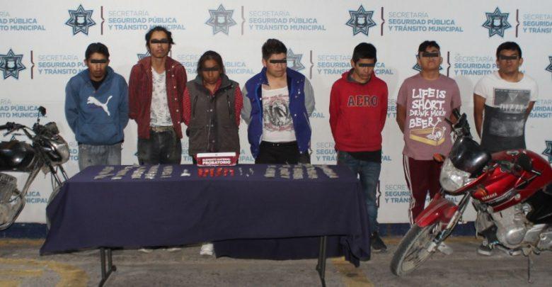 detenidos, marihuana, cristal, heroína, motocicletas, reporte de robo, alteración del orden público, Código Rojo, Nota Roja, Puebla, Noticias