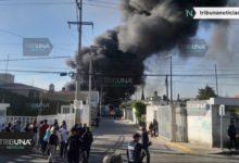 incendio, Lomas de Castillotla, Bomberos, Protección Civil, Policía Municipal, Policía Estatal, movilización, fuego, Código Rojo, Nota Roja, Puebla, Noticias