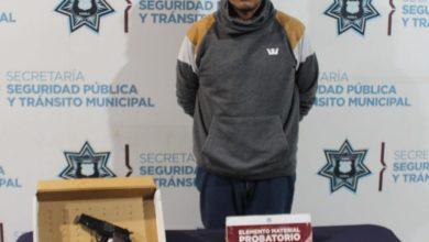 """La SSC de Puebla detuvo a """"El Moreno""""; Relacionado con diversos robos a tiendas oxxo Ministerio Público"""