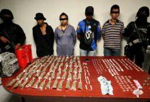 banda, narcomenudeo, La Margarita, SSP, paquete, marihuana, heroína, cristal, piedra, Código Rojo, Nota Roja, Puebla, Noticias
