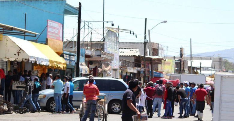 Operativo, Mercado Morelos, SSP, drogas, armas blancas, patrullas, cocaína, marihuana,