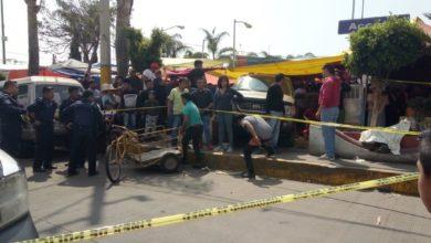 Camioneta, frenos, San Miguel Canoa, accidente, SUMA, SSC, Tránsito Municipal, camioneta Ford Explorer, muerto, persona de la tercera edad, tianguis
