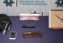 Ex Rancho Vaquerías, SSC, detención, taxista, celular, pertenencias, pareja, Código Rojo, Puebla, Nota Roja, Noticias