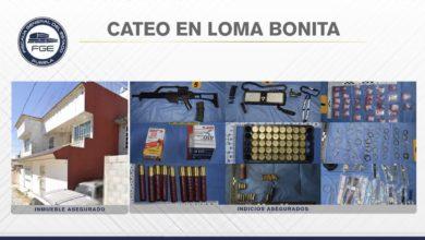 El Negro, El Tío, El Bombón, detención, cristal, arma larga, cartuchos útiles, Código Rojo, Nota Roja, Puebla, Noticias