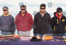 robo, cable, hombres, dos vehículos, seir detenidos, aseguramiento, San Jerónimo Caleras, Código Rojo, Nota Roja, Puebla, Noticias
