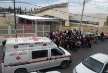 Balacera, San Martín Texmelucan, secundaria técnica número 61, jornada escolar, seguridad, paramédicos, Uniformados municipales