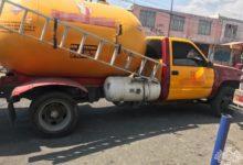 SSP, gas, Santa María Xonacatepec, actitud sospechosa, policías, conductor
