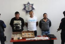 detenidos, droga, marihuana, cocaína, cristal, El negro, El Diablo, 46 Poniente, extorsión, Código Rojo, Puebla, Noticias