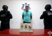 detenido, asalto, robo, efectivo, celulares, teléfono, dorga, marihuana, cristal SSP, Código Rojo, Nota Roja, Puebla, noticias