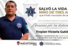 menor de edad, intoxicado, Policía Municipal, salvado, RCP, SSP, Código Rojo, Nota Roja, Puebla, Noticias