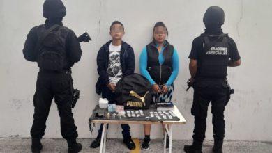 Central de Abasto, detenidos, pareja, drogas, SSP, Código Rojo, Nota Roja, Puebla, Noticias