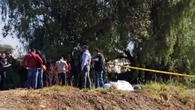 Encobijado, embolsado, cadáver, cerro del Totolquemec, San Martín Texmelucan, Cruz Roja, paramédicos, Fiscalía General del Estado