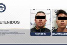 Famsa, detenidos, robo, celulares, flagrancia, Loma Bella, Famsa, Código Rojo, Nota Roja, Puebla, Noticias