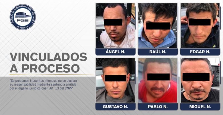 grupo delictivo, múltiples, delitos, prisión preventiva, detenidos, Policía Estatal, Chignahuapan, Código Rojo, Nota Roja, Puebla, noticias