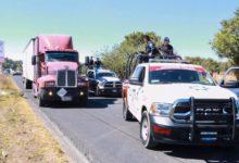 tractocamión, Huejotzingo, detenidos, cuatro, lesionado, arma de fuego, carga, fertilizante, Código Rojo, Puebla, Nota Roja, Noticias