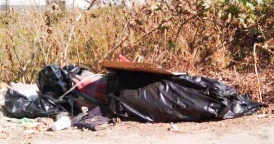 Cadáver, narco mensaje, Unidad Habitacional Agua Santa, cuchillo, Secretaría de Seguridad Ciudadana, El Calaco, cobro de piso